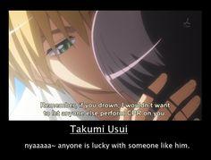 usui takami motivational by shiruke-angela.deviantart.com on @deviantART T^T I want my own Usui!!!