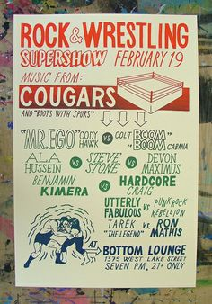 GigPosters.com - Cougars - Boots With Spurs