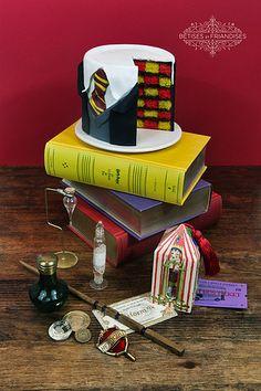 Gâteau cake design Harry Potter Bêtises et Friandises