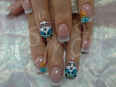 70's Nails - VW!