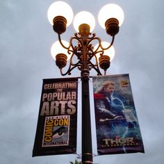 Look who has taken over San Diego! Marvel's Thor: The Dark World has descended over just in time for San Diego Comic-Con! Have you spotted these posters in town?  Photo courtesy of Pat Loika http://patloika.tumblr.com/post/53838374741/yep-its-almost-here-sdcc-thor