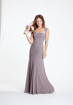 Watters Bridesmaid Dress - IMAN 5530 Plum/Flora https://www.watters.com/watters/products/iman