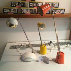 Travel lamps circa 1960's