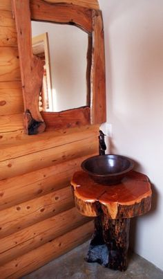 awesome rustic bathroom vanity