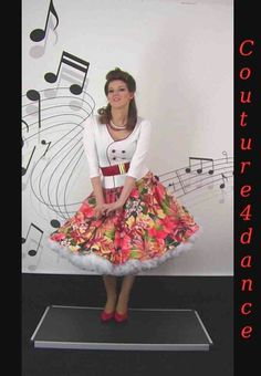 Pretty skirt and petticoat