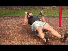 Tough Mudder Training=  Rope Pulls  SWEET swing push up  ab killers tough-mudder-prep-training