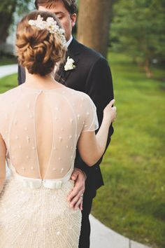 Jenny Packham wedding gown // photo by First Mate Photo Co.