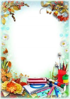 Page Background Design, Simple Background Images, Powerpoint Background Design, Kids Background, Flower Background Wallpaper, Frame Border Design, Boarder Designs, Page Borders Design, Flower Frame Png