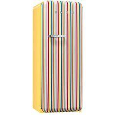 Réfrigérateur congélateur, hauteur 1,51m, multicolore, froid brassé.