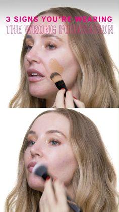 Full Face Makeup, Eye Makeup, Hair Makeup, Contour Makeup, Hair Health And Beauty, Hair Beauty, Beauty Makeup Tips, Beauty Hacks, Makeup Tricks