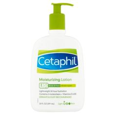 Cetaphil Moisturizing Lotion for All Skin Types, Fragrance-Free, 20 fl oz Lotion For Dry Skin, Moisturizer For Oily Skin, Dove Bar, Dry Sensitive Skin, Best Face Products, Beauty Products, Fragrance, Forks Washington
