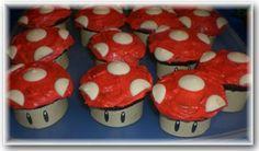 Super Mario Bros Cupcake Wrappers
