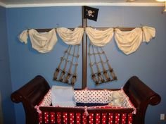 A Pirates Life For Me - cute for a boys room
