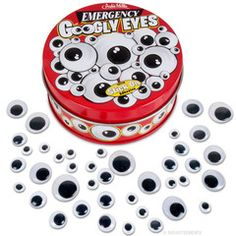 Emergency Googly Eyes, can't wait to put these on Everything, I'm going googly eye bombing lol!