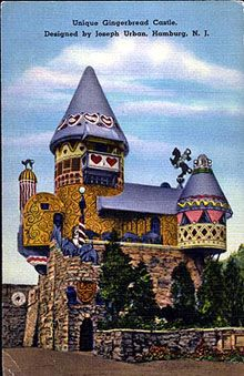 Gingerbread Castle, Hamburg NJ Unfortunately abandoned and in need of repair, but I just love roadside attractions!