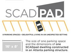 Students Turn Parking Garage into Tiny House Village: SCADPad Photo