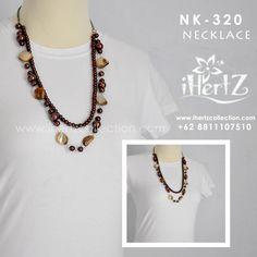 aksesoris kalung handmade ihertz membuka peluang agen dan reseller