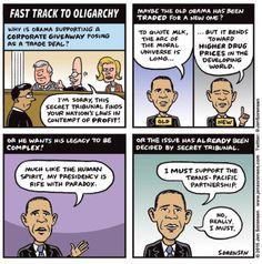 AlterNet Comics: Jen Sorensen on What Could Be Behind Obama's Secret Trade Deal | Alternet