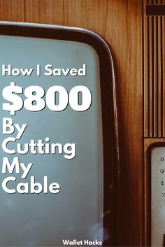 "Cut it. Just cut it. Most ""how to cut your cable"" articles give you a laundry list of things to do… but let me tell you the secret… JUST CUT YOUR CABLE. Then, see what you miss and we'll figure out how to put it back. Better. Stronger. Faster. I Love Local Television (like a …"