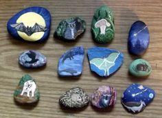 My story stones - Sharon Jorgensen.  5/21/14