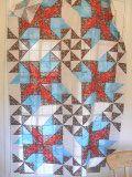 pinwheel rosebud quilt pattern with tutorial