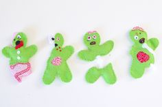 Felt Zombie Catnip Filled Cat Toys Tutorial - Dream a Little Bigger