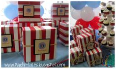 Party-Tales: ~ Birthday Party ~ Pirates!! 1st birthday party and Pirate pops Tutorial