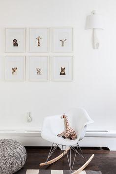 Finns Nursery Sissy and Marley1 Nursery in bianco e legno naturale