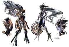 one of my favourite renditions of Shiva - Stiria & Nix Shiva Final Fantasy, Final Fantasy Tattoo, Final Fantasy Cosplay, Final Fantasy Artwork, Fantasy Concept Art, Goblin, Character Art, Character Design, Character Sheet