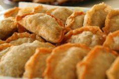 Crispy fried dumplings crazy dumplings Chinese dumplings jiaozi www.twoamericansinchina.com