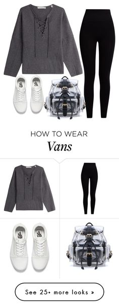 """Untitled #981"" by zeniboo on Polyvore featuring Vince, Pepper & Mayne and Vans"
