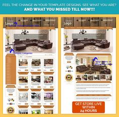 #CustomeBayStores Design & #eBayListingDesign Templates in #Wooden Theme. Get it for your #ebaystore today.