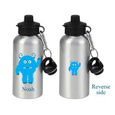 by cjcprint on Etsy Personalised Drink Bottles, Gifts For Kids, Great Gifts, Printed Water Bottles, Aluminum Water Bottles, Monster Design, Kid Names, Party Favors, Shopping Mall