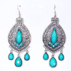 Trendy Bohemia earrings carve pattern designs on woodwork restoring ancient ways droplets exaggerated earrings