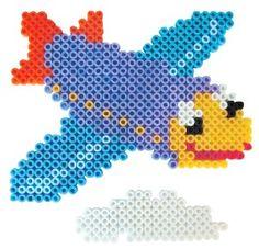 Airplane perler beads