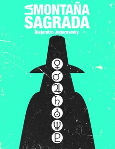 Jodorowsky's Movies Posters by Miguel García, via Behance