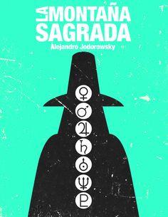 Jodorowsky's Movies Posters by Miguel García, via Behance