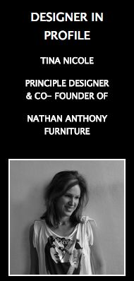 Design Awards News featuring Tina Nicole, The Designer in Profile.