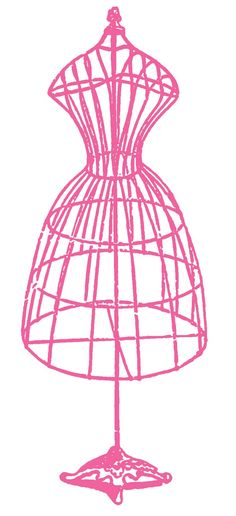 wire dress form graphicsfairy.com