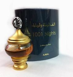 1001 Nights Alf Lail O Lail Spicy Woody Smoked Musky Perfume Oil Ajmal