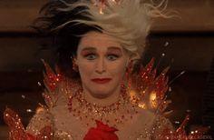 Fire Dress worn by Glenn Close in '102 Dalmations'.