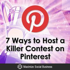 7 ways to host a killer contest on Social Business, Business Tips, Online Business, Viral Marketing, Online Marketing, Marketing Tools, Direct Sales Tips, Direct Selling, Google Plus