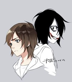 Jeff and The Killer by PSlenDy.deviantart.com on @deviantART