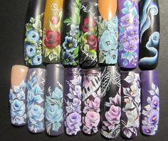 one stoke by Olgitanails - Nail Art Gallery nailartgallery.nailsmag.com by Nails Magazine www.nailsmag.com #nailart