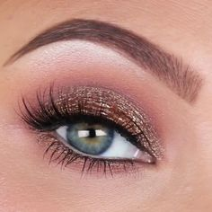 Jaclyn Hill - Antique Bronze Smokey eye makeup (colourpop eyeshadows - blaze & kathleenlights)