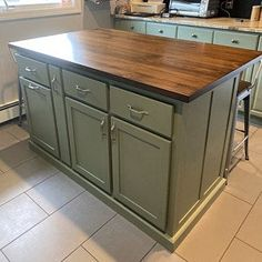 Custom Kitchen Island with Seating Item 155 Portable Kitchen Island, Kitchen Island With Seating, Kitchen Islands For Sale, Handmade Kitchens, Custom Kitchens, Shaker Style Kitchens, White Kitchens, Dream Kitchens, Cabinet Dimensions