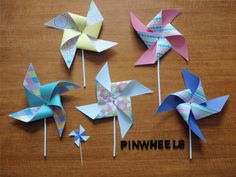 DIY Pinwheel for Kids Garden