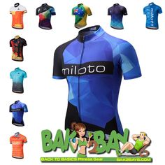 74d415e36 MILOTO 2018 Pro Cycling Quick Dry Jersey - Available in PLUS Size