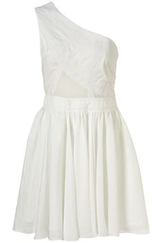 One-shoulder dress from Top Shop