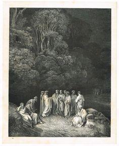 La Divine Comédie - L'enfer - illustration de Gustave Doré gravée par Monvoisin - Planche 12